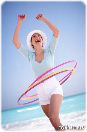 Кручу, верчу – похудеть хочу или мой опыт использования массажного обруча.