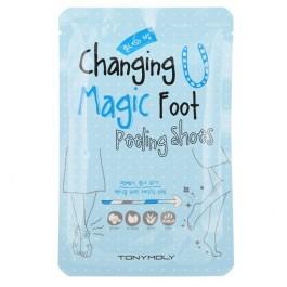 Tony Moly / Пилинг для ног Changing U Magic Foot Peeling Shoes