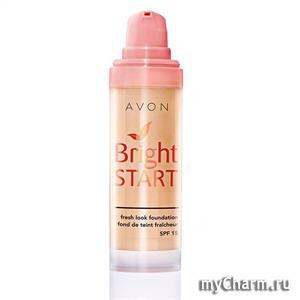 "Avon / Тональное средство для лица ""Bright Start"" SPF 15"