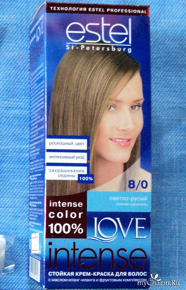 Эстель краска для волос русый