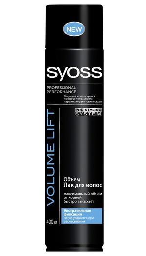 Syoss / Лак для волос VOLUME LIFT Объем экстрасильной фиксации