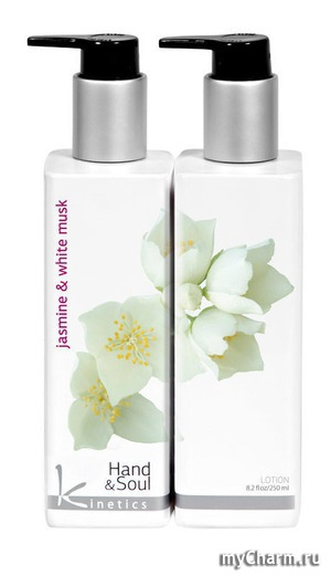 Kinetics / Лосьон для рук и тела Jasmine and White Musk Lotion