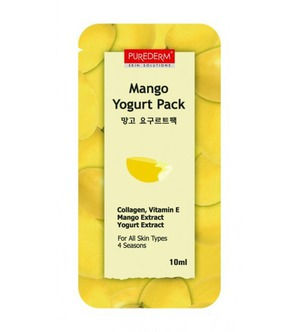 Purederm / Маска для лица Mango Yogurt Pack