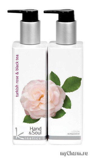 Kinetics / Лосьон для рук и тела Turkish Rose and Black Tea Lotion
