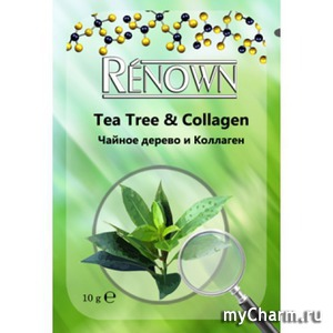 Renown / Маска кремовая для лица «Чайное дерево и коллаген»