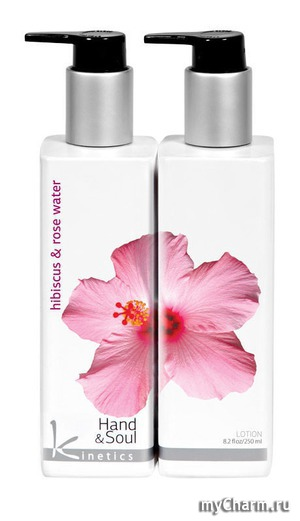 Kinetics / Лосьон для рук и тела Hibiscus And Rose Water Lotion