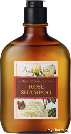 Ausganica / Шампунь для волос Rose Shampoo