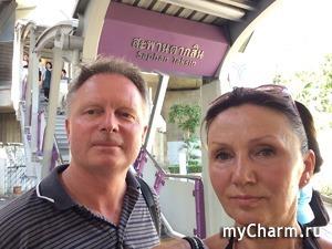 Взрыв под мостом Taksin в Бангкоке 18 августа - мы были в 20 метрах