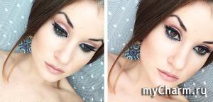 Вариант макияжа на Новый год;)