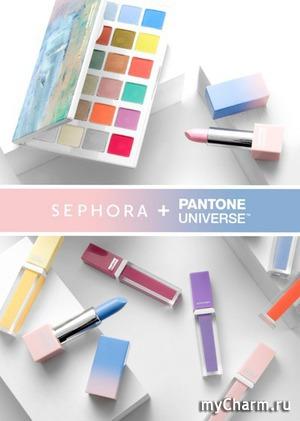 Pantone и Sephora создали новую коллекцию