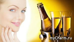 Секрет - в пузырьках: косметические процедуры с шампанским