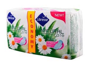 Libresse / Гигиенические прокладки Natural Care Ultra Normal
