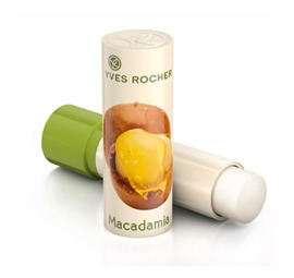 "Yves Rocher / Бальзам для губ ""Макадамия"""
