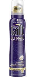 пена для укладки Taft