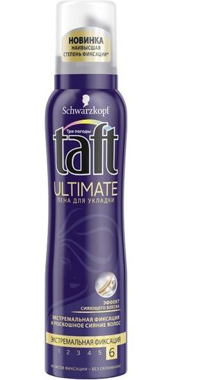Taft / Пена для укладки ULTIMATE