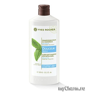 Yves Rocher / Шампунь для всей семьи Hamamelis Gentle Super-Soft Shampoo