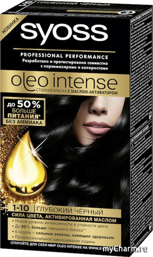 SYOSS Oleo Intense - теперь в новой формуле!