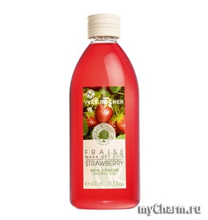 Yves Rocher / Гель для Ванны и Душа Strawberry Shower Gel