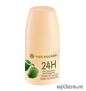 Yves Rocher / Дезодорант - Антиперспирант 24 Ч 24H Anti-Transpirant Amande de Californie