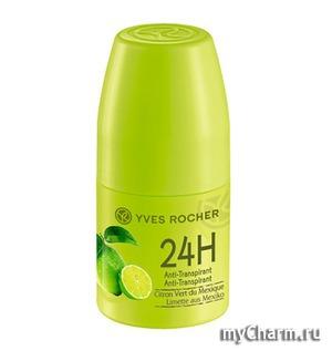 Yves Rocher / Дезодорант - Антиперспирант 24 Ч 24H Anti-Transpirant Citron Vert du Mexique