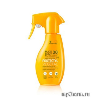Yves Rocher / Молочко Макси-Спрей для Загара с Высоким Уровнем Защиты SPF 30 Maxi-Spray SPF 30 Protectyl V'eg'etal