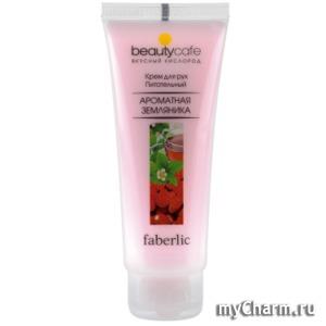 Faberlic / Питательный крем для рук Ароматная земляника серии Beauty Cafe