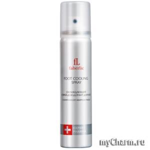Faberlic / Охлаждающий спрей-дезодорант для ног серии Expert Pharma