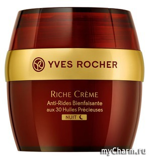 Yves Rocher / Ночной Крем от Морщин Riche Cr`eme Comforting Anti-Wrinkle Night Cream