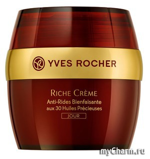 Yves Rocher / Дневной Крем от Морщин Riche Cr`eme Comforting Anti-Wrinkle Day Cream