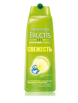 GARNIER / Fructis Свежесть Укрепляющий Шампунь