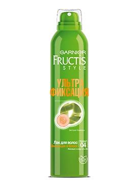 GARNIER / Fructis Ультра Фиксация Лак для волос