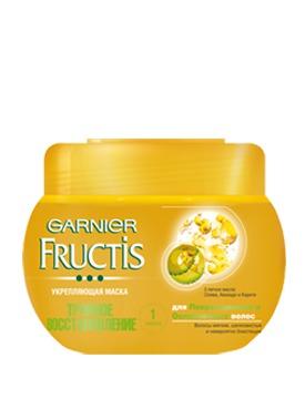 GARNIER / Fructis Тройное Восстановление Укрепляющая Маска