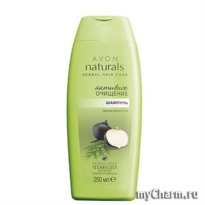 Avon / Шампунь для волос «Активное очищение. Черная репа и туя»