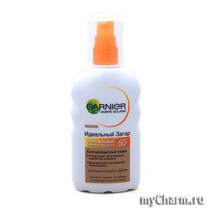 GARNIER / Ambre Solare Идеальный загар Cолнцезащитный спрей SPF 50+