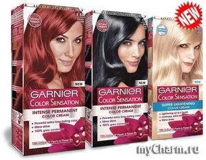 GARNIER / Краска для волос Color&Sensation