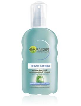 GARNIER / Ambre Solare После загара Oсвежающий увлажняющий спрей