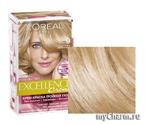 L'OREAL / EXCELLENCE крем-краска для волос тройной уход