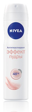 NIVEA / Дезодорант-антиперспирант Эффект пудры спрей 150 мл