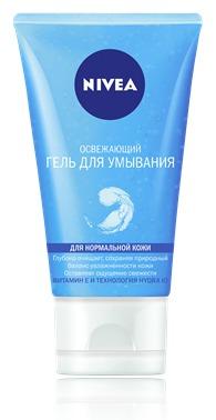 NIVEA / Освежающий гель для умывания для нормальной кожи