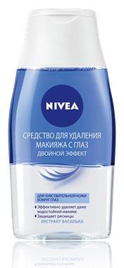 NIVEA / Средство для удаления макияжа с глаз Двойной эффект