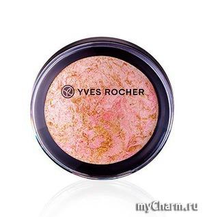 Yves Rocher / Компактная пудра для лица «Сияющая вуаль»