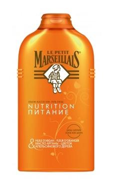 le petit marseillais / Питательный гель (гель-масло) «Масло арганы и цветок апельсинового дерева»