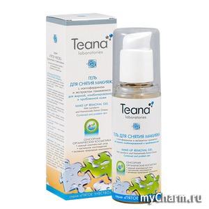 Teana / Гель для снятия макияжа мицеллярный с лактоферрином и экстрактом гамамелиса для жирной, комбинированной и проблемной кожи