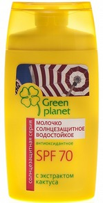Молочко солнцезащитное Green Planet
