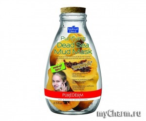"Purederm / Очищающая маска Purifying Dead Sea Mud Mask ""Papaya"""