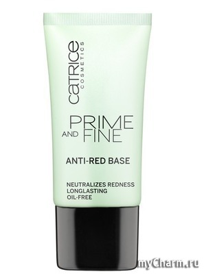 Catrice / Основа под макияж Prime And Fine Anti-Red Base