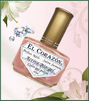El Corazon / Био-гель Active Bio-gel Color gel polish №423/1-№423/18