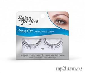Salon Perfect / Накладные ресницы Press On Self Adhesive Lash - самоклеящиеся ресницы № 45