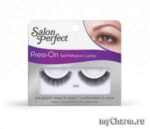 Salon Perfect / Накладные ресницы Press On Self Adhesive Lash - самоклеящиеся ресницы № 33
