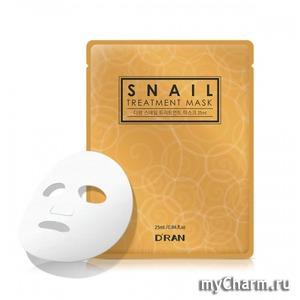 DRAN / Маска для лица Snail Treatment Mask